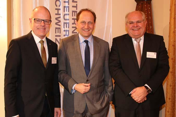 Dieter Weber, Alexander Graf Lambsdorff, Prof. Dr. Hubertus Baumhoff